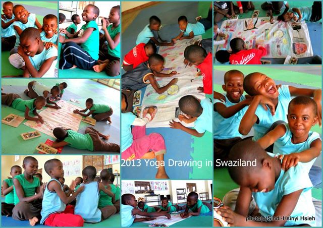 Yoga Drawing in Swaziland.