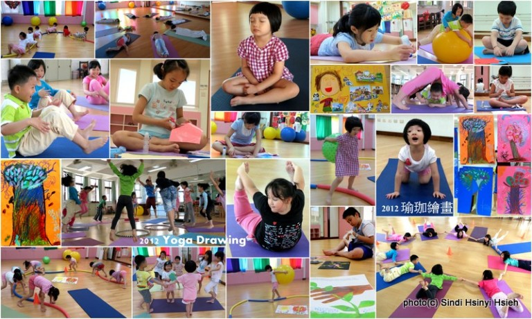 2012 Yoga Drawing in Taiwan